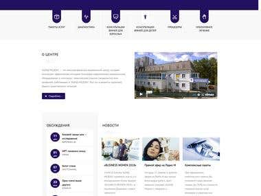 ACMD.clinic - medical website