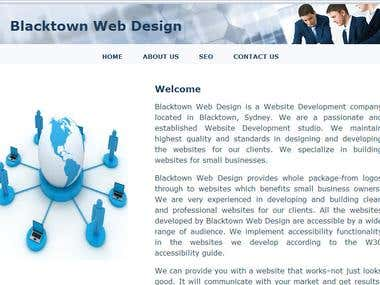 Blacktown Web Design