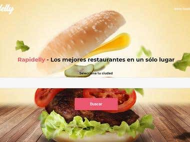 Cadena de Restaurantes Rapidelly.com
