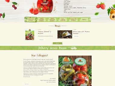 Food Advertising website