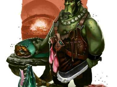 Cooking Ork