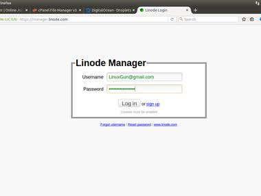 Linode System admin