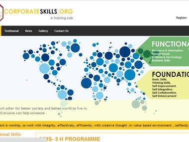 Interactive Softskills Website