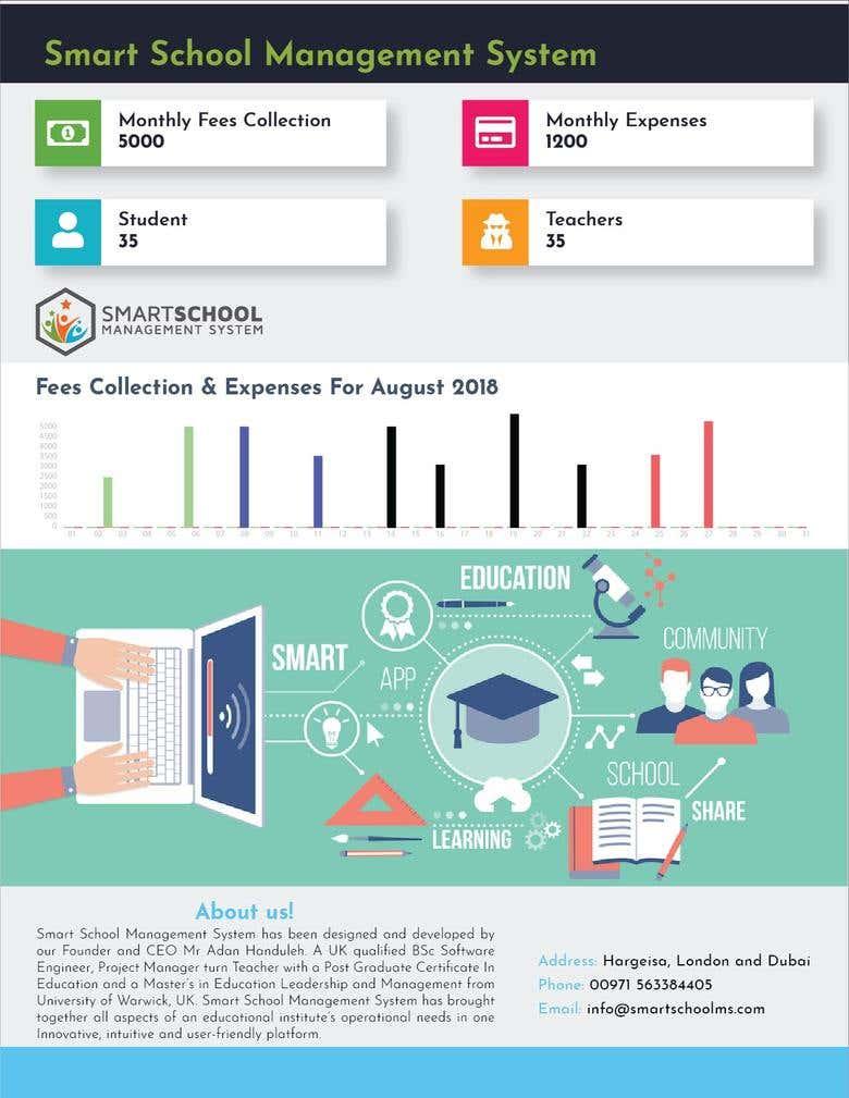 Design An Advertising Brochure For School Management System Freelancer