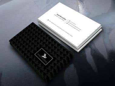 Business Card, Corporate Card