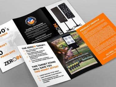 Design A5 Brochure