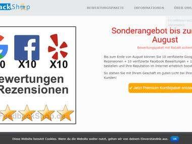 Online feedback shop