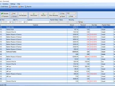 Invoice And Inventory System