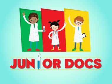 Educational game for children - Logo