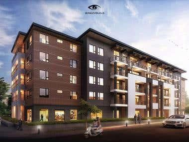_Amazing exterior 3d rendering_