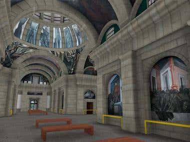 Hospicio Cabañas - 3D Environment