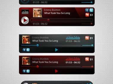 Flash MP3 player Design