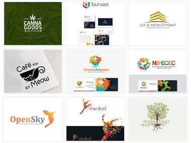 Logo Designs for international clients