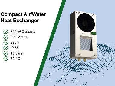 Compact Air/Water Heat exchanger