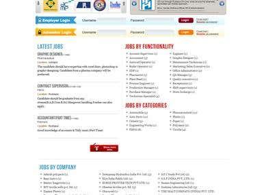Jobs Website