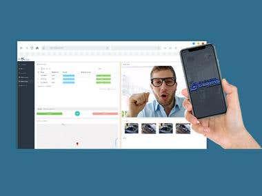 Desarrollo de sistema que incluye App y BackEnd de control