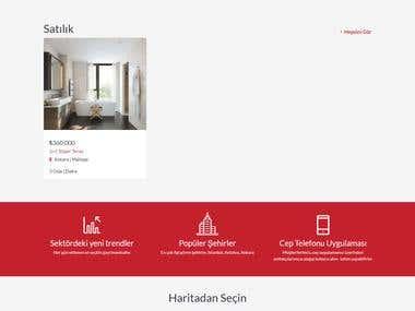 Real estate marketplace (Laravel)