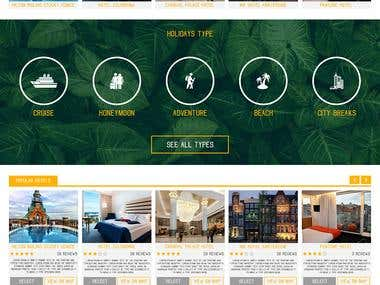Pometravel Web Design