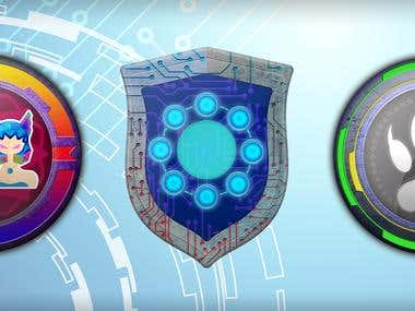 Medallions for games app