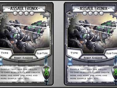 Game Card Design
