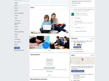Facebook Page Promotion of an online Tuition Portal