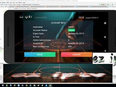 EZ IPTV app_Custom Stalker IPTV Player designed for Android
