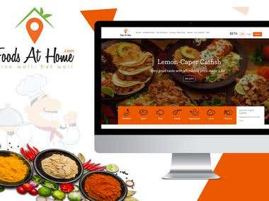 Recipes and Food Ordering Portal