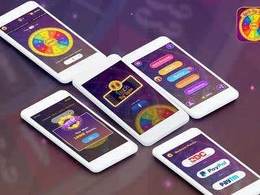 LuckBySpin Mobile Game