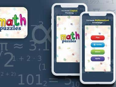 Maths Puzzle game