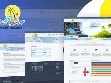 Online Tours & Travels Portal