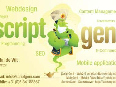 ScriptGeni PHP Scripts Development Services
