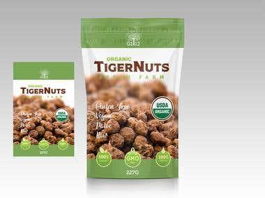 packaging tigernuts