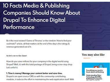 Article - 10 facts on Drupal for media publishing companies