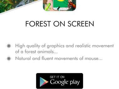 Forest_on_screen APP