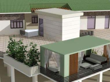 residential architecture and 3d renderings