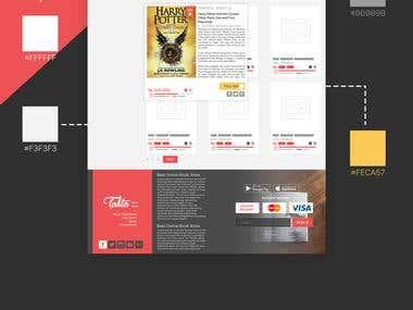 Bookstore - Web Design