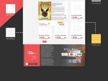 Bookstore - Web Design