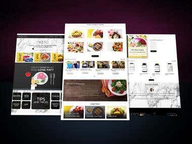 niKeto Website Design