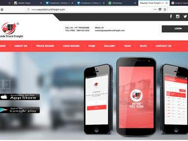 Truck Booking Application For Web and Mobile