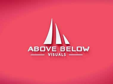 Logo design for Above and Below visual.