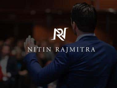 Logo design for Nitin Rajmitra.