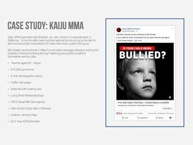 Case Study - Facebook Marketing
