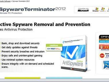 Portuguese translator for the Spyware Terminator products