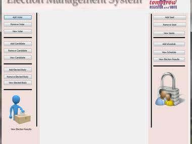 Election Mangement System (Java)