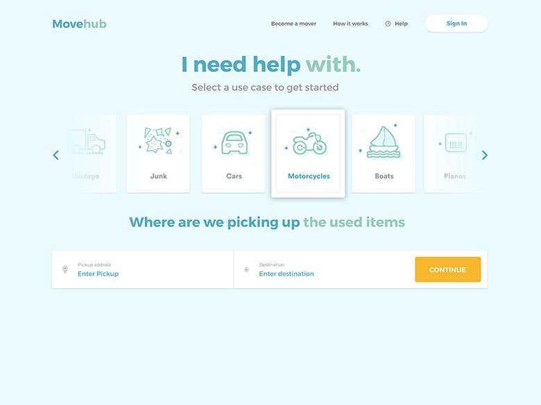 Move hub   Freelancer