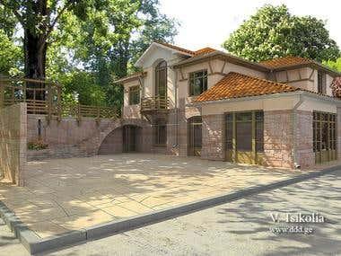 Residential house near Tbilisi