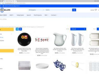 Shopify Wholesale Store - Collection Page