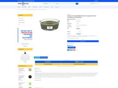 Shopify Wholesale Store - Product Page