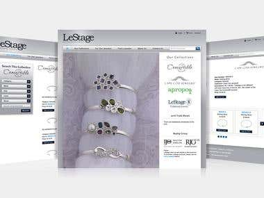 LeStage Manufacturing Co - Custom CMS