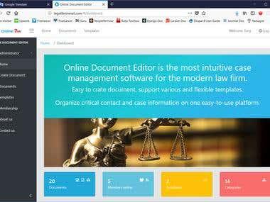 OnlineDocumentEditor(LegalDesireNext)